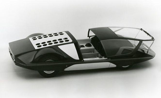 1970 Ferrari 512 S Pininfarina Modulo designed by Paolo Martin