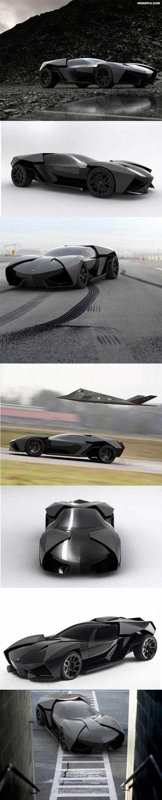 Lamborghini Ankonian Concept.