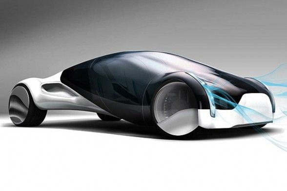 Maininki Future Car, futuristic vehicle, automobile, future car, concept car, fu…