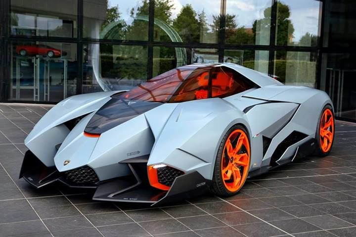 Lamborghini Egoista: now on public display
