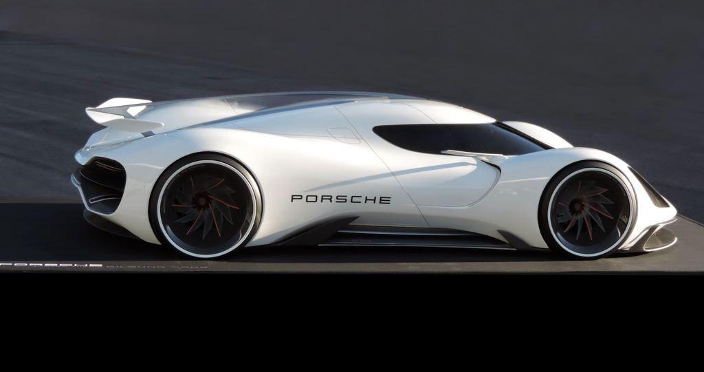 Porsche 2035 Electric Le Mans prototype
