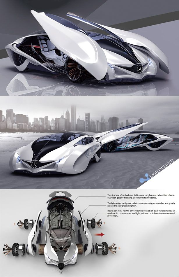 ♂ Dolphin concept car is the third winner of Michelin design challenge 2013, i…