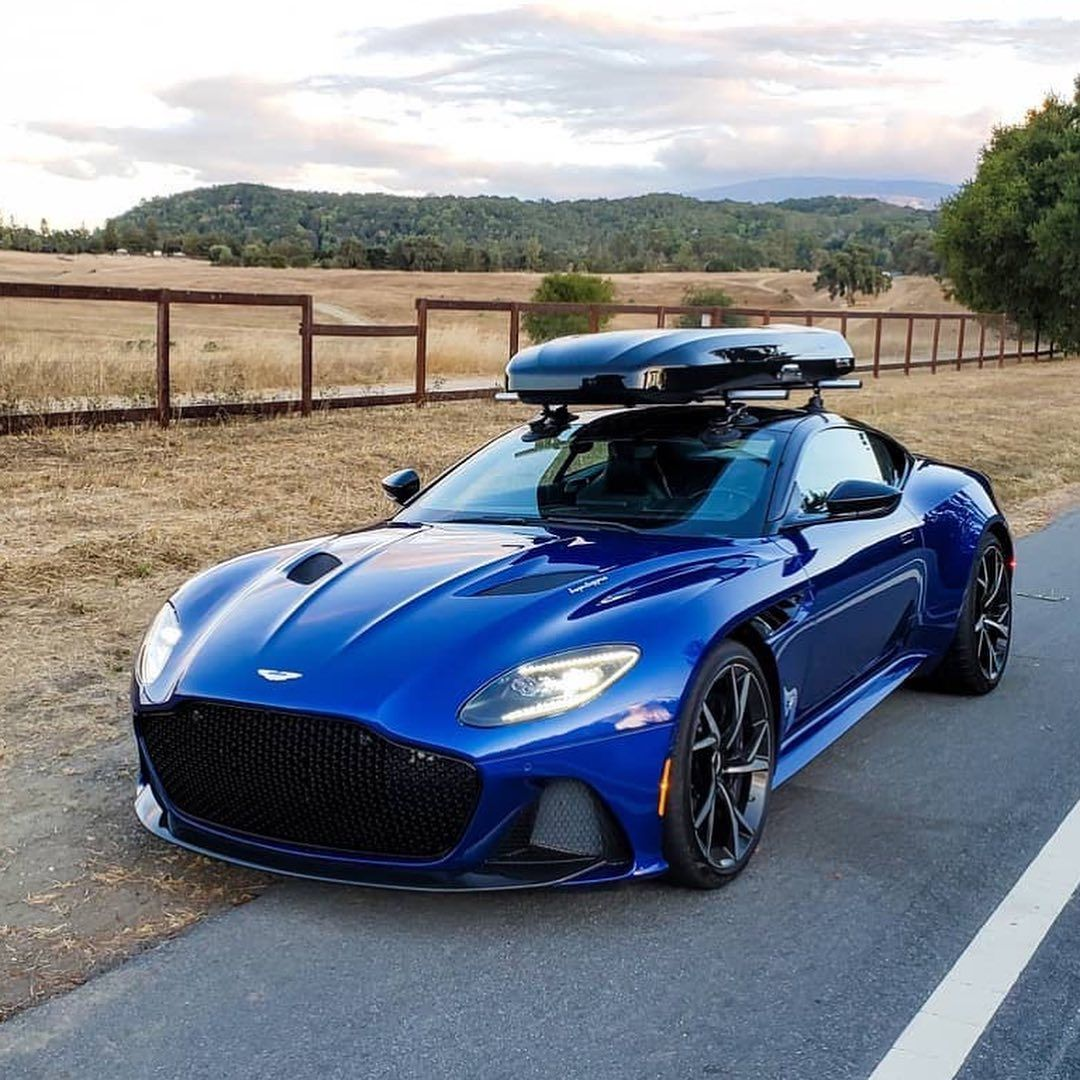 """Miles on Instagram: """"I love seeing this! Road trippppp! Very cool.  Where would you go in your DBS? ? @ntlr  #astonmartin #dbs #superleggera #v12 #instacars…"""""""