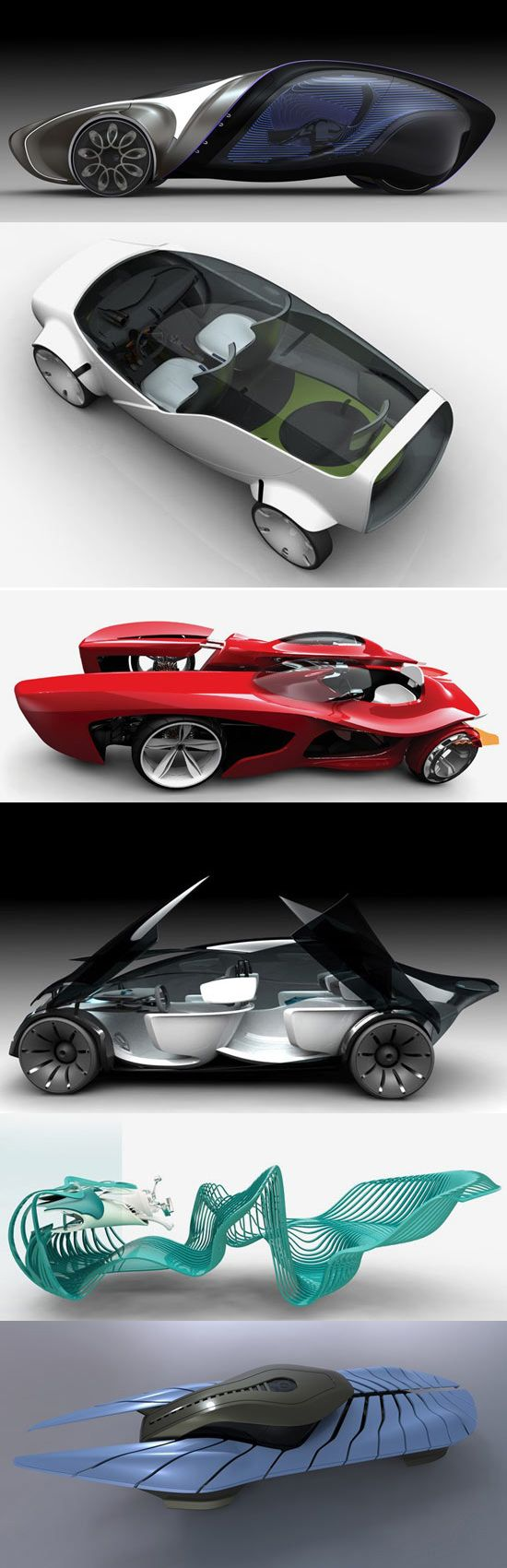 latest vehicle design concepts from RCA