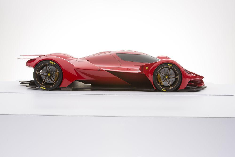 Ferrari Piero T2 LM Stradale — Design