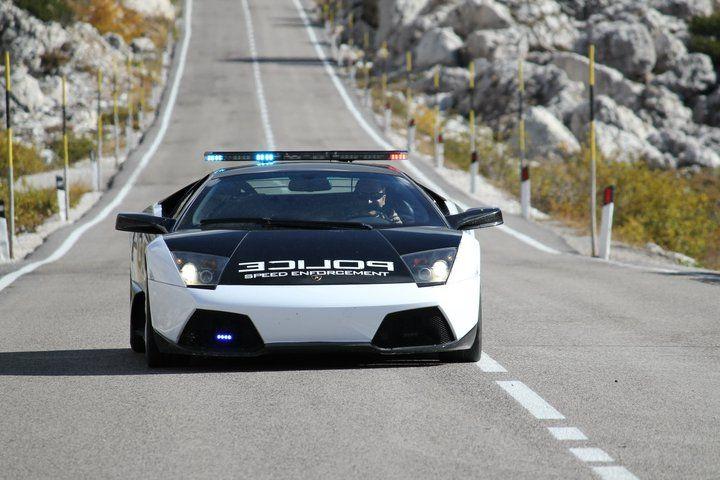 Lamborghini Police Car