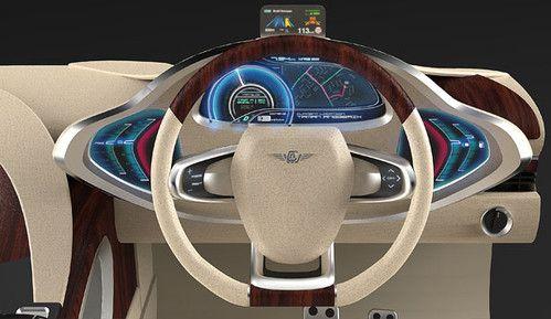 Luxury Neue Klasse Concept Car