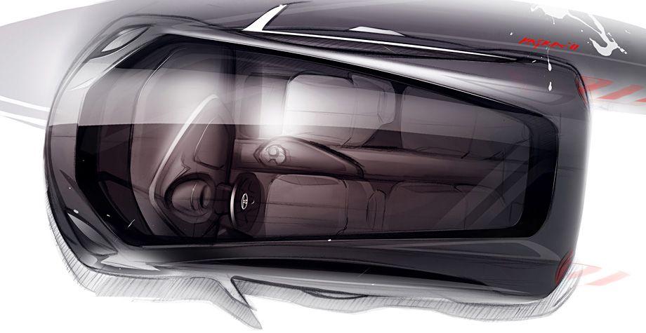 Tata Megapixel Concept – Design Sketch