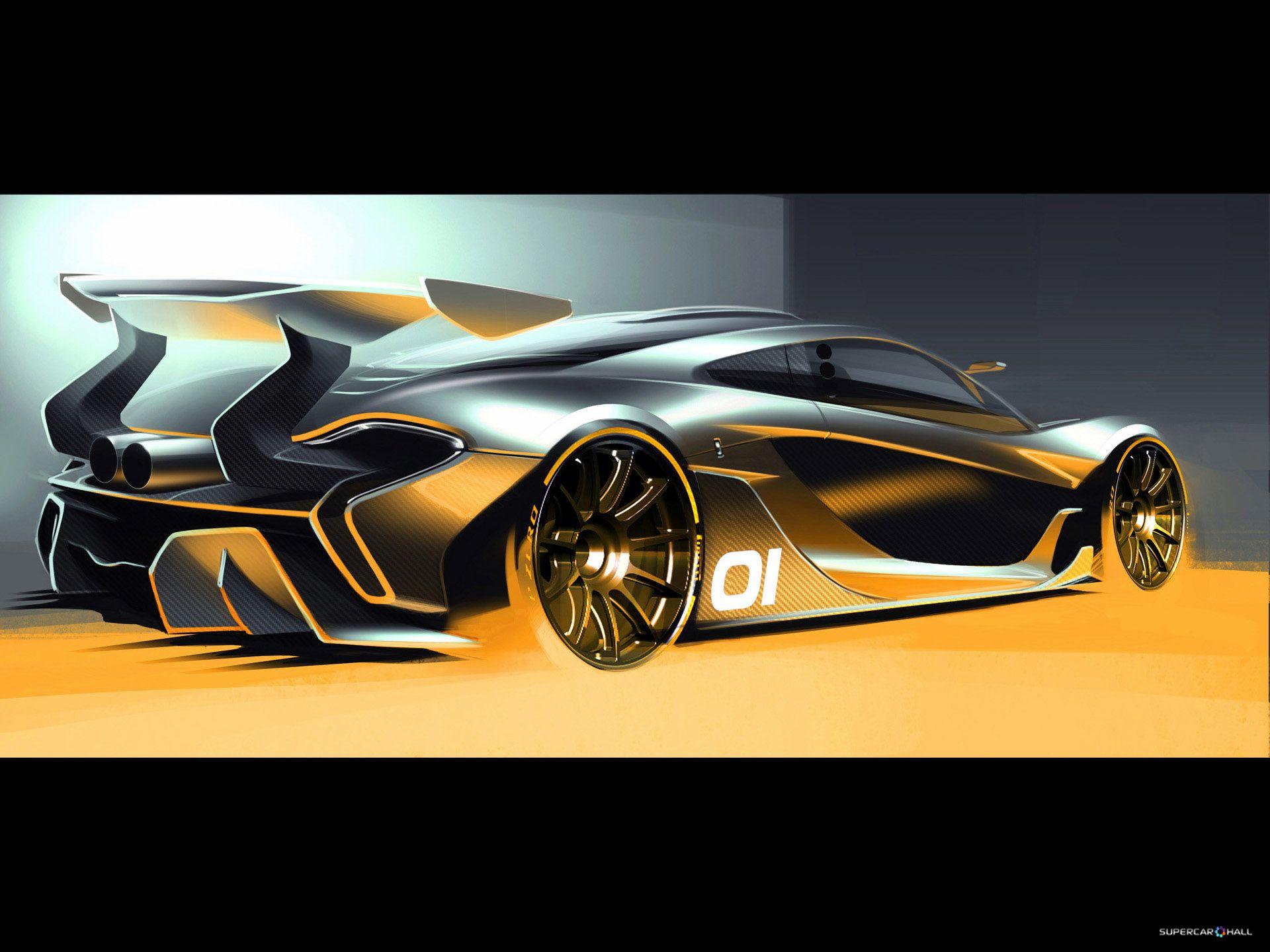 McLaren 2015 McLaren P1 GTR Design Concept