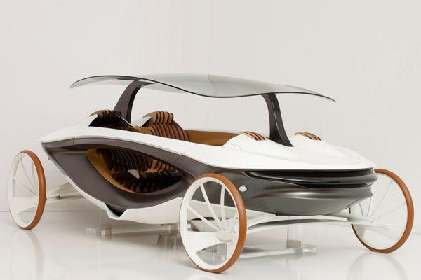 Mobile Pavilion Car