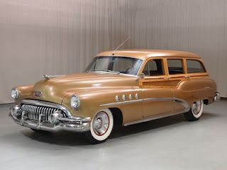 1952 Buick Roadmaster Estate Wagon
