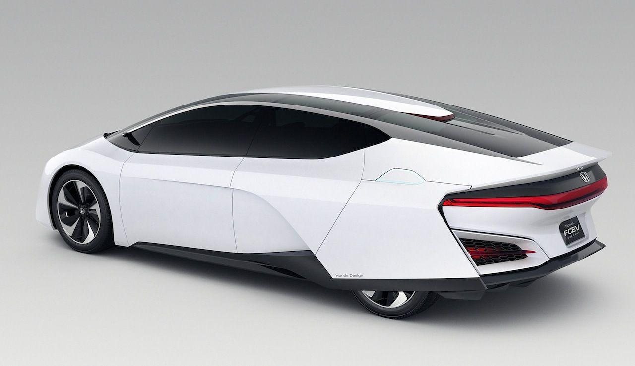 Honda FCEV Fuel-Cell Concept Design Car 2015