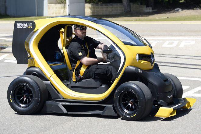 7 twizy renault sport f1 concept car Twizy Renault Sport F1 concept car