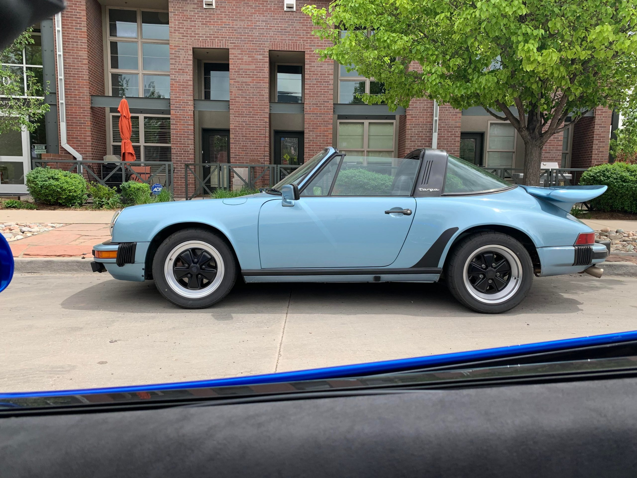 Air cooled, whale tail, targa. Beauty.