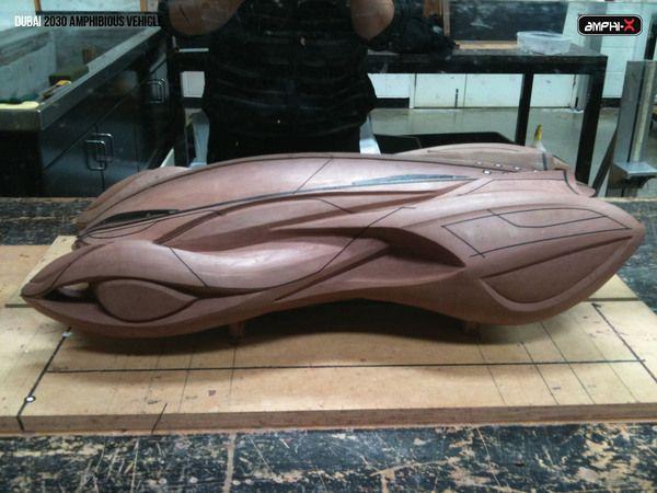 Dubai 2030 Amphibious Vehicle   Inspirations Area
