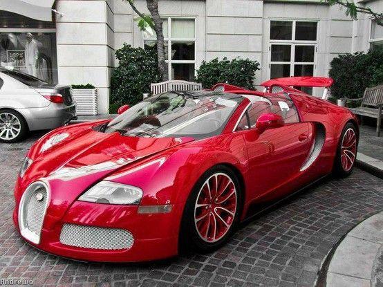 Bugatti Veyron Grandsport Red Edition