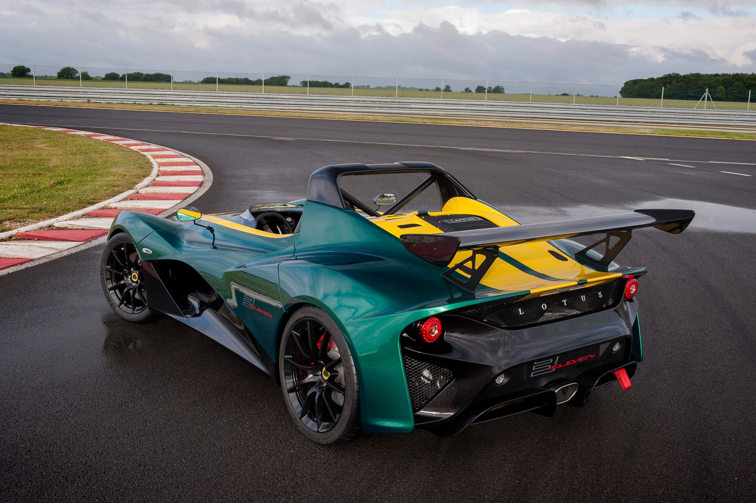 The doorless, roofless, windowless Lotus 3 Eleven