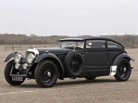 Old school curves. 1930 Bentley Six Speed Blue Train