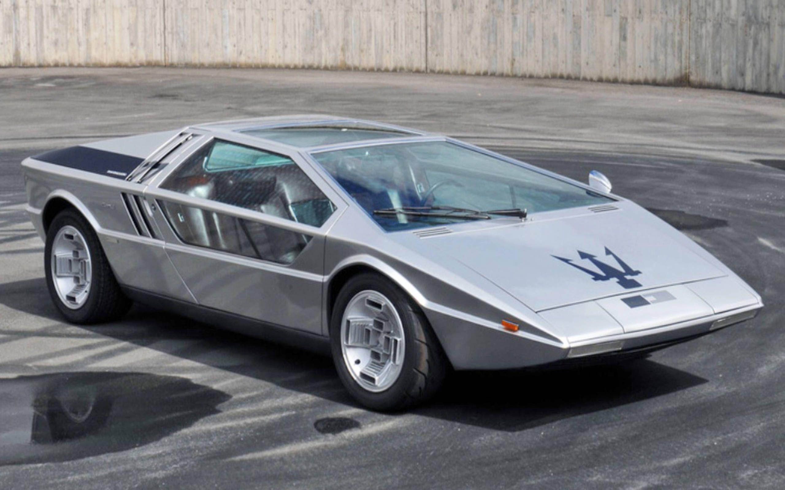 The 1971 Maserati Boomerang