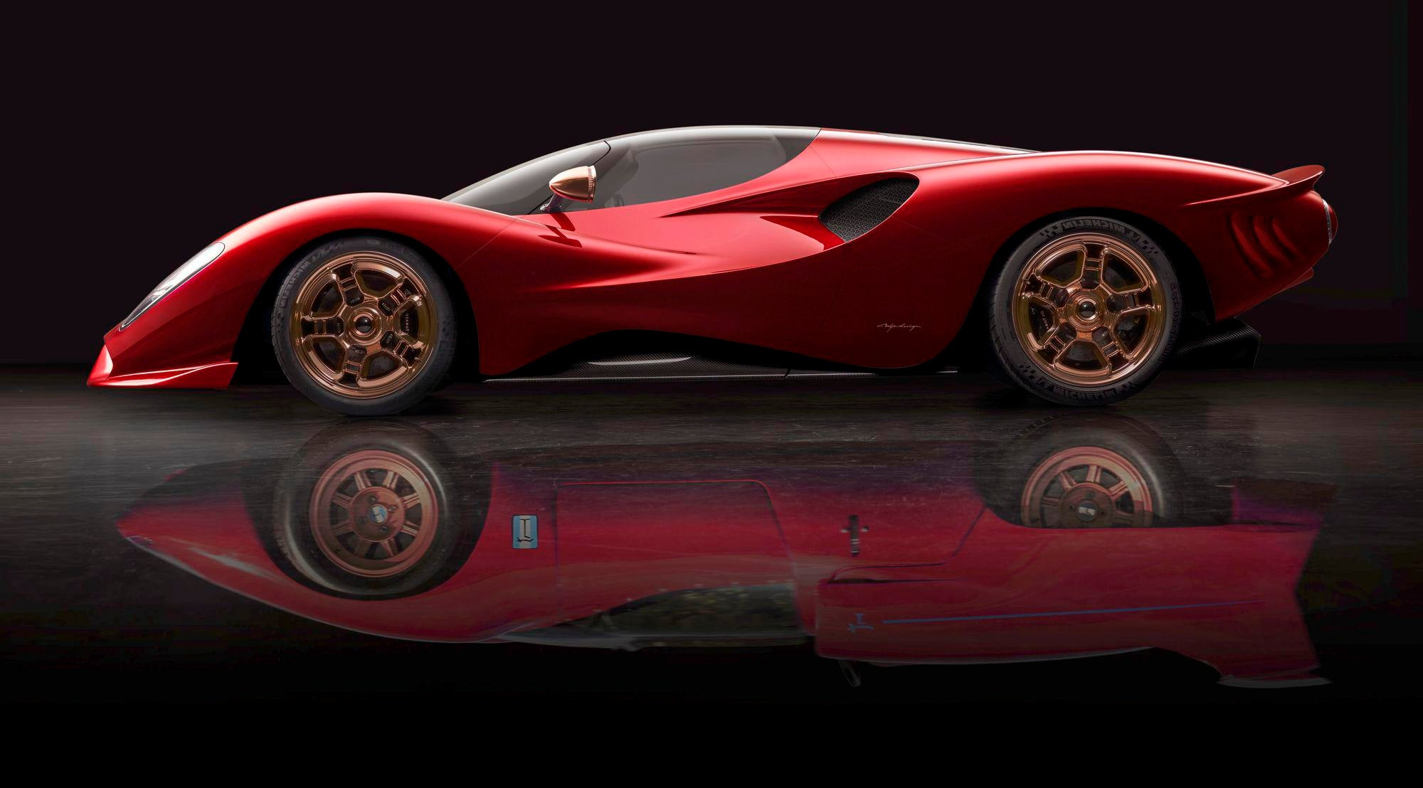2019 DeTomaso P72. As A kid I wanted a Pantera. As an adult want one of these.