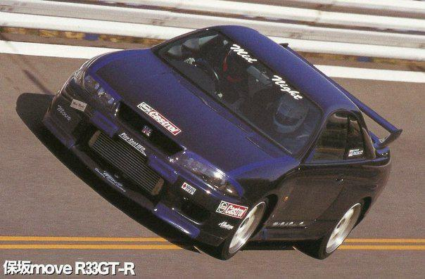 NISSAN SKYLINE R33 GT-R [MidNight Club]