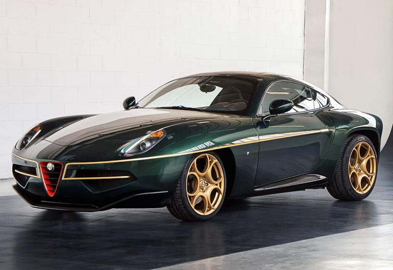 2013 Alfa Romeo Disco Volante, a coach-built special by 'touring'.