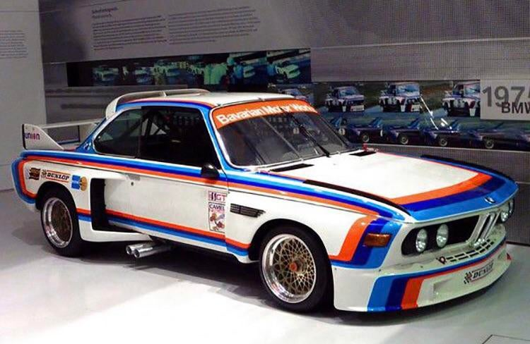 "BMW E9 3.0 CSL AKA ""The Batmobile"""
