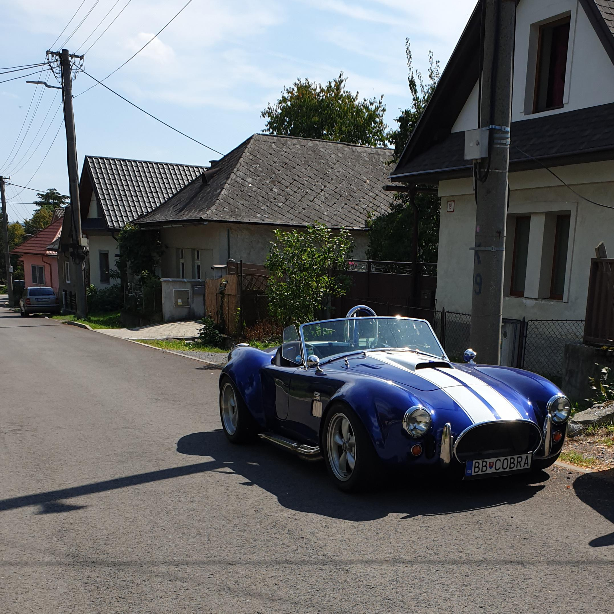 Classic Shelby Cobra. Cars like this are really rare in my country.