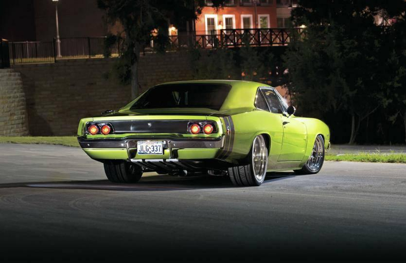 1968 Dodge Charger. FEEL the rumble.