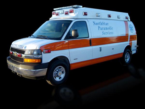 Chevrolet ambulancia