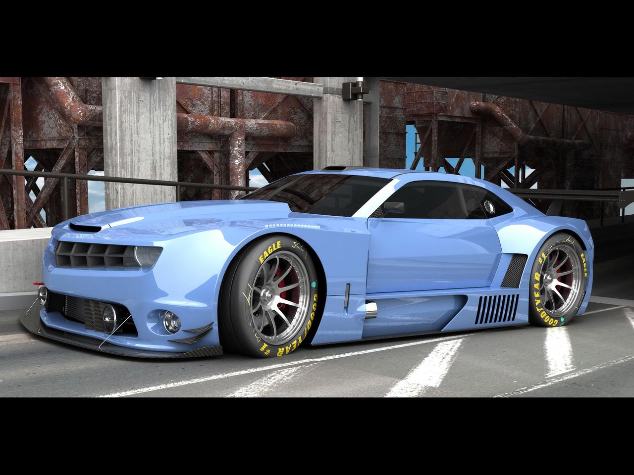 Chevrolet camaro race