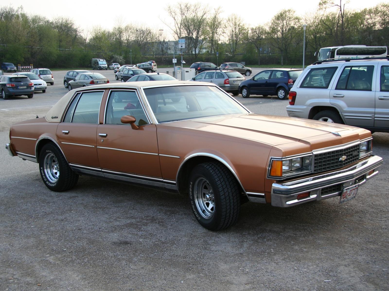 Chevrolet caprice 4.3