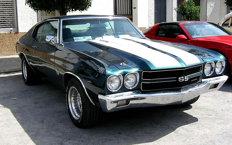 Chevrolet chevelle coupe