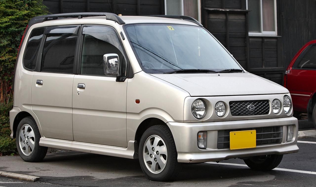 Daihatsu move 4wd