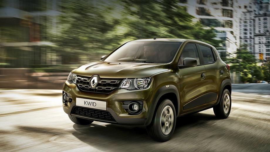 New budget A-class Hatchback Renault Kwid