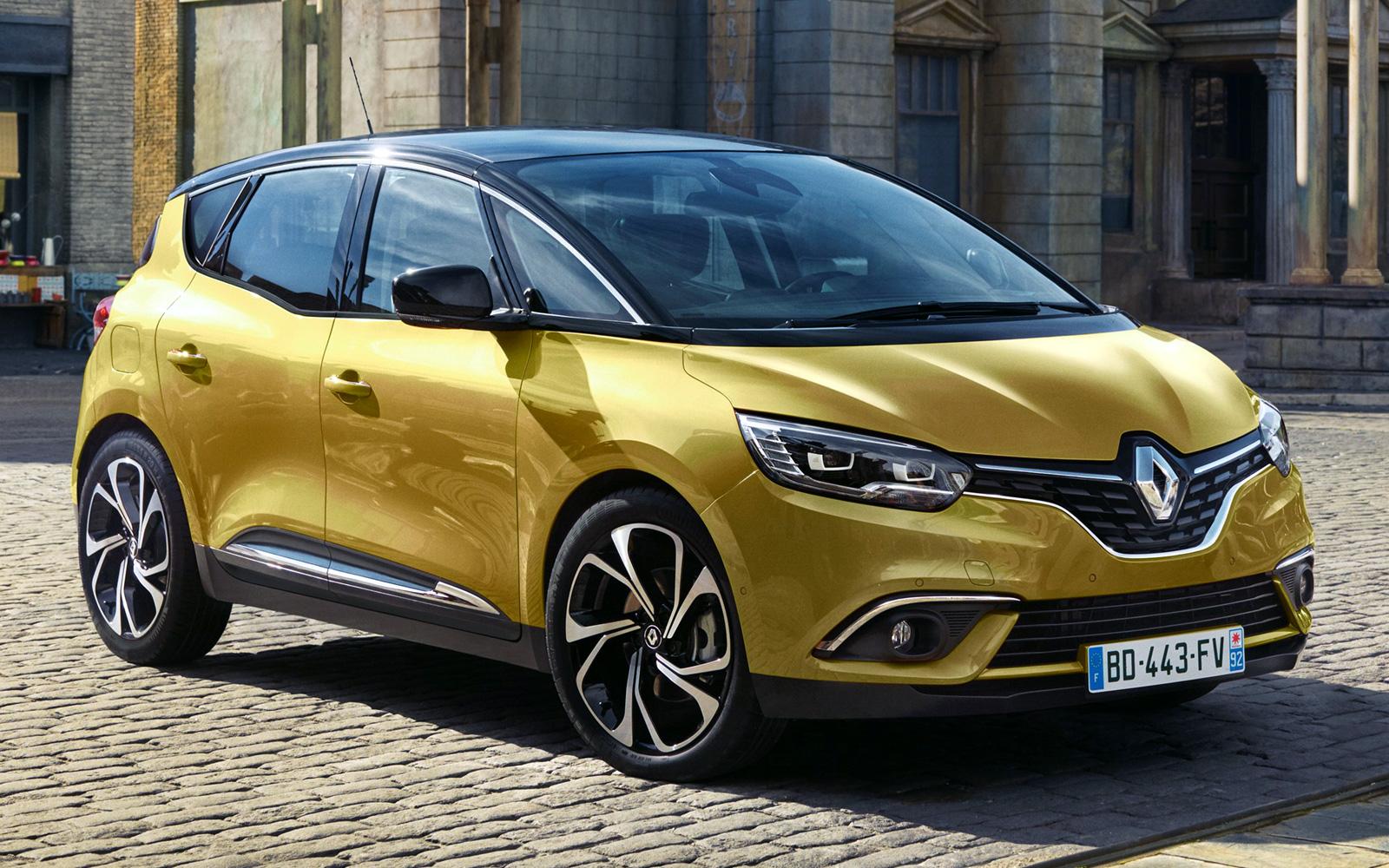 Renault Scenic 4 (2016-2017)