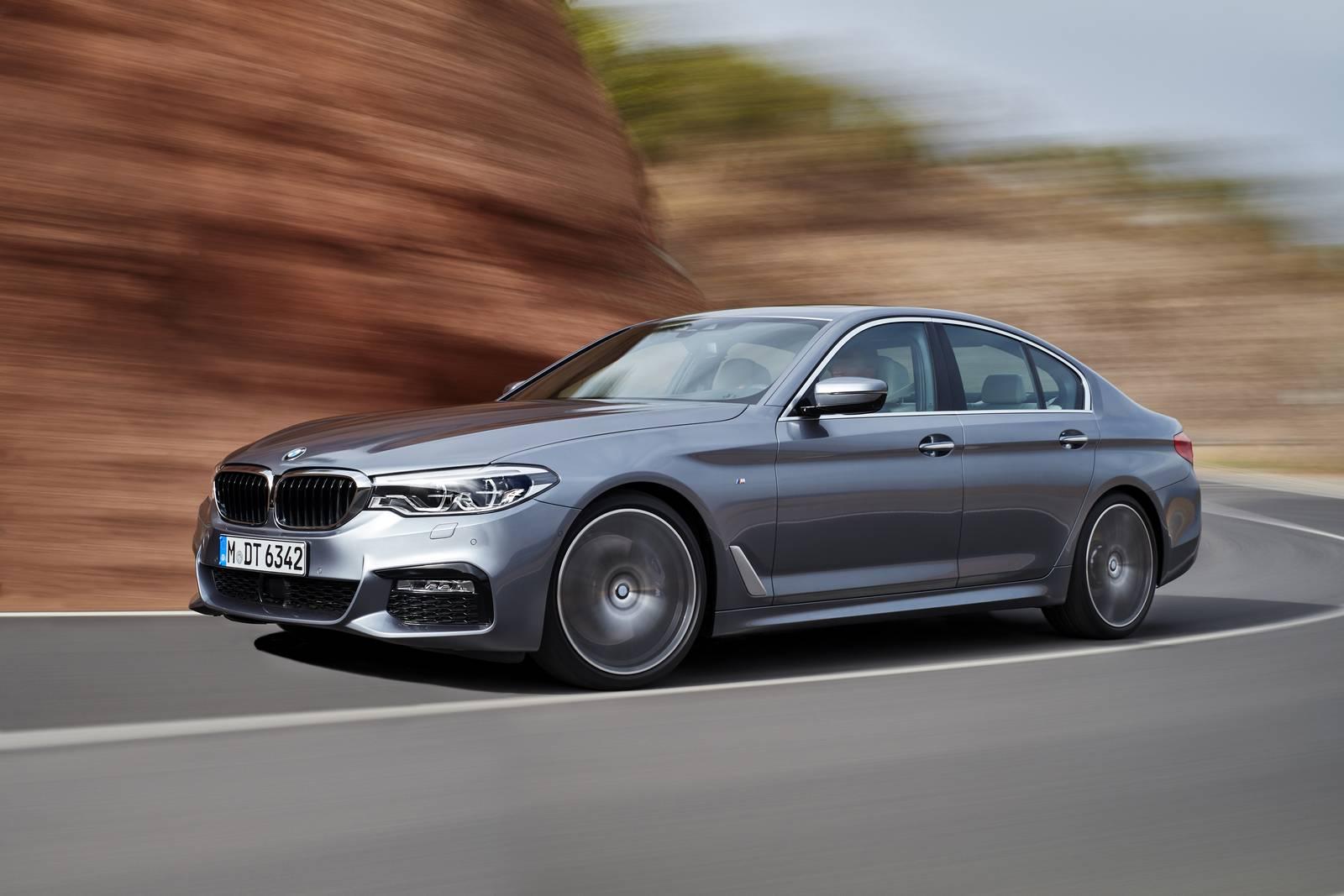 BMW 5-series (2016-2017)