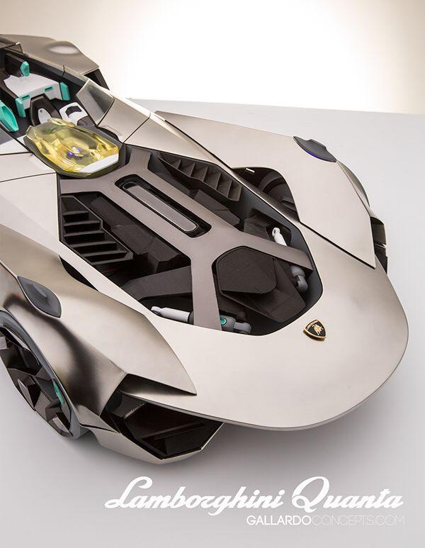 Lamborghini Quanta // hard model