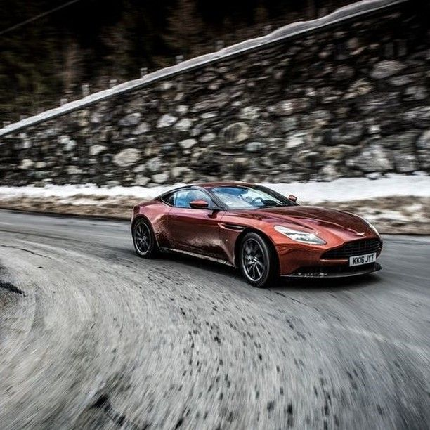 """Aston Martin on Instagram: """"Striking the perfect balance between excitement and refinement, DB11 exploits its inner strength and immense performance.  #AstonMartin…"""""""