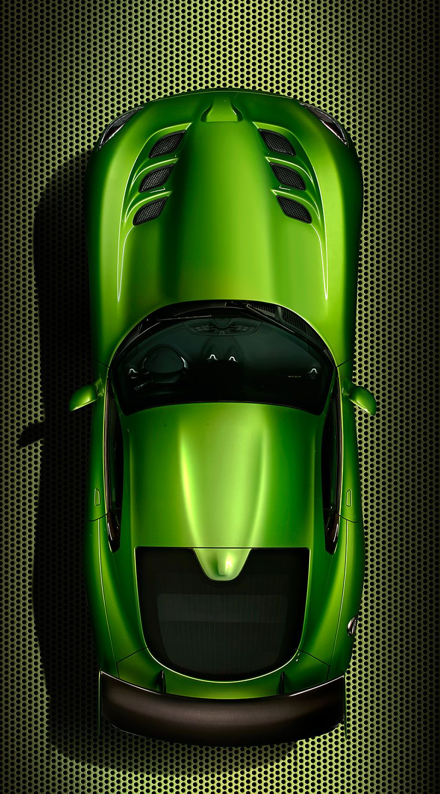 2014 SRT Viper Stryker Green vertical