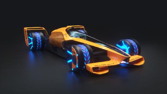 McLaren reveals vision for grand prix racing in 2050