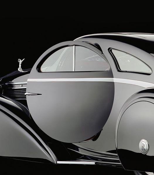 The Round Door Rolls – 1925 Rolls-Royce Phantom I Jonckheere Coupe