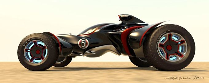 DRIVE: Vehicle Sketches and Renderings by Scott Robertson   Concept Art World