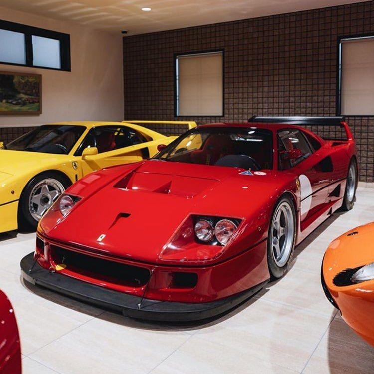 "Jochem Welberg on Instagram: ""Ferrari F40 LM  By: @kenmsaito  #ferrari #ferrariclassic #classic #car#supercars #enzoferrari #ferrarif40 #maranello #scuderiaferrari…"""