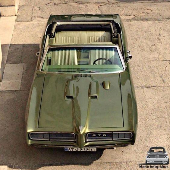 CARS ONLY CARS, vintageclassiccars:Nice. Pontiac GTO circa 1971