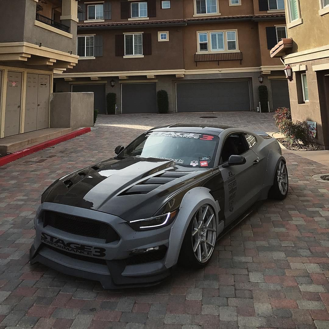 Widebody Ford Mustang S550