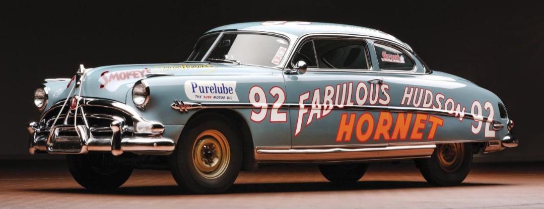 Herb Thomas's 1952 Fabulous Hudson Hornet
