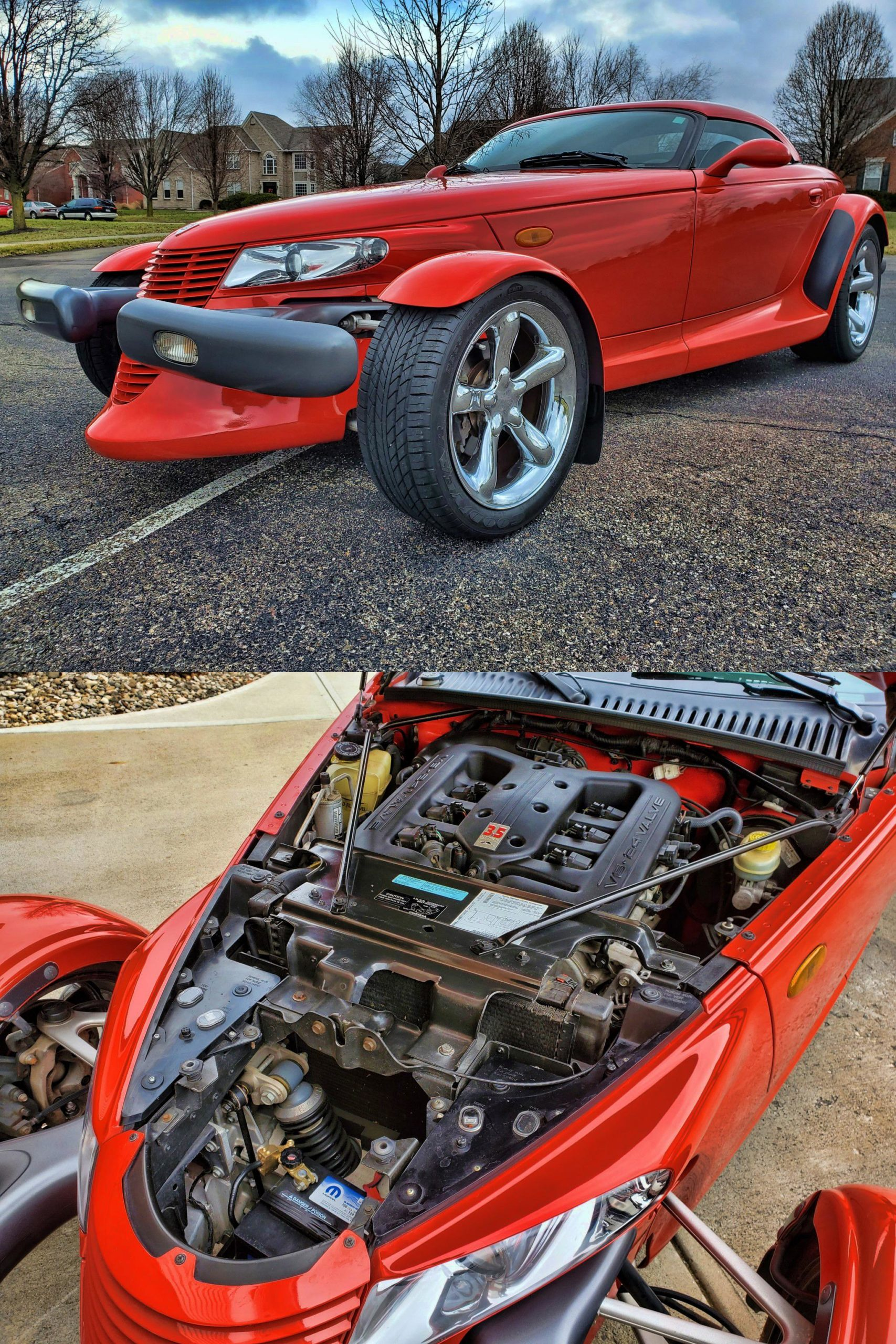 Don't see these everyday. 1999 Plymouth Prowler…
