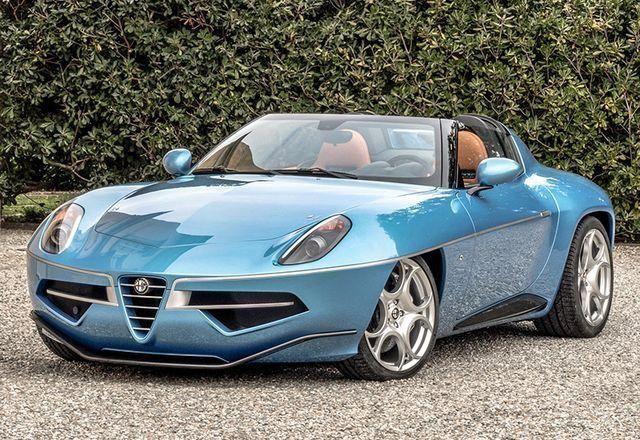 2016 Alfa Romeo Disco Volante Spyder Carrozzeria Touring #luxurysportcaralfarome…