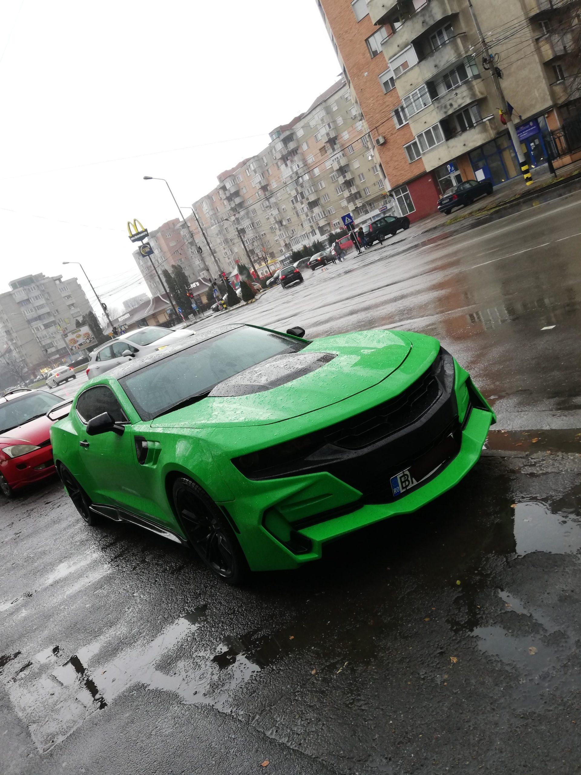 [OC] Chevrolet Camaro spotted in Oradea, Romania